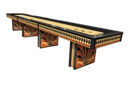 Art Deco #1 Olhausen Shuffleboard Table