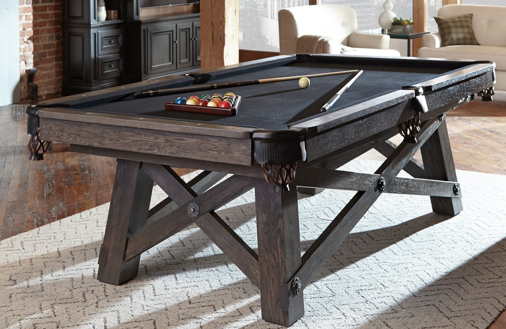 California House Loft Pool Table Olhausen Gamerooms - Pool table description