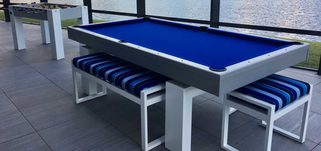 All Weather Billiards Outdoor Pool Tables Olhausen Rooms